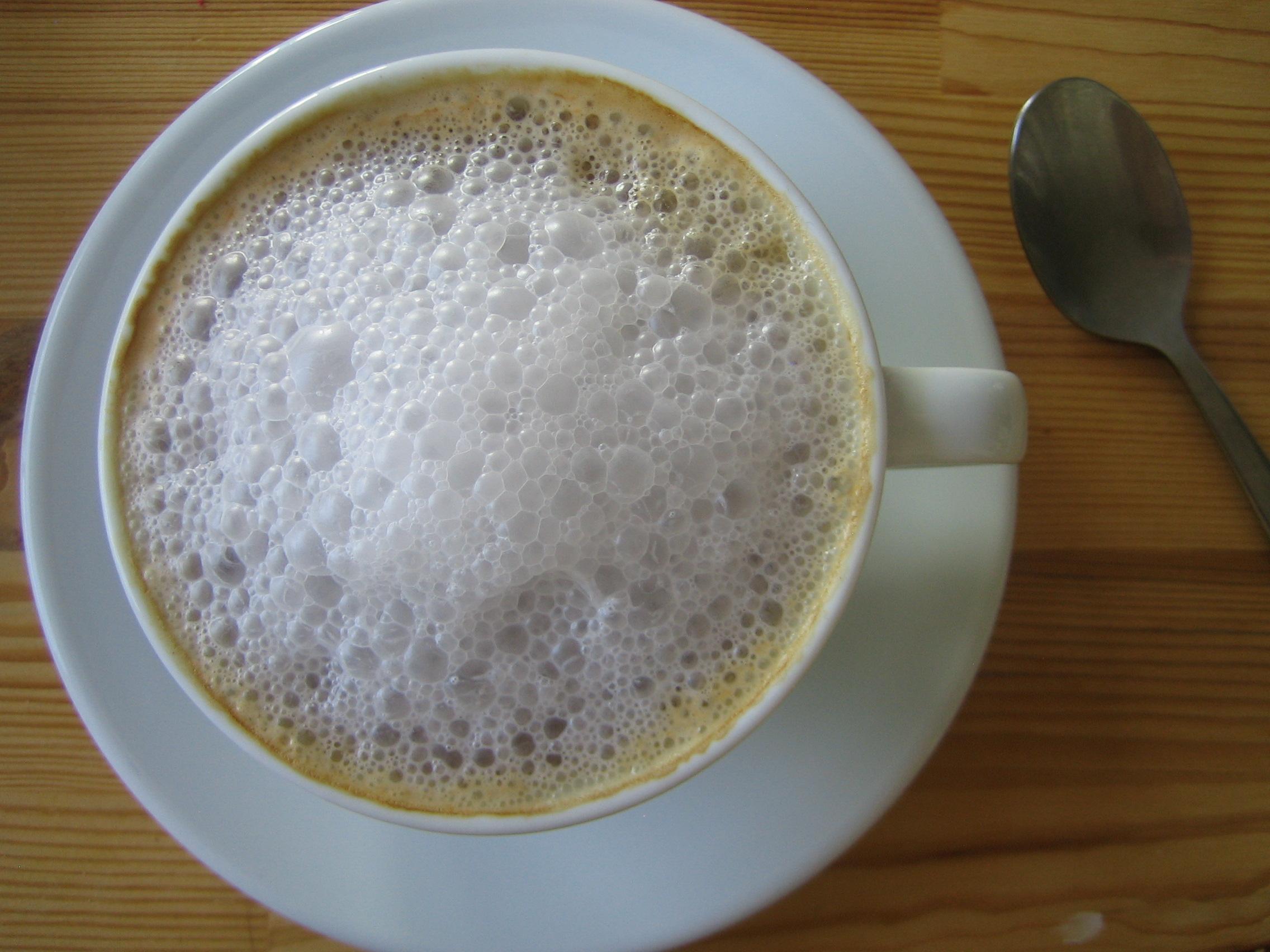 Milk foam